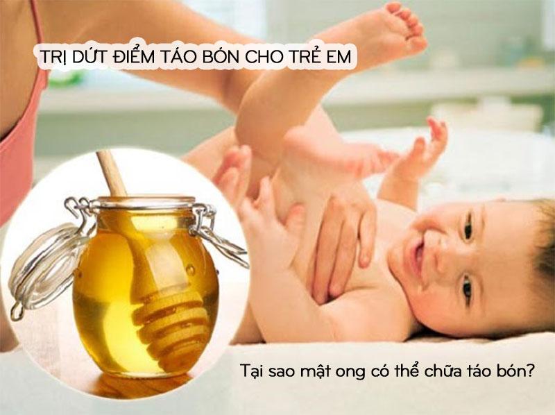 Thực phẩm trị táo bón cho trẻ em