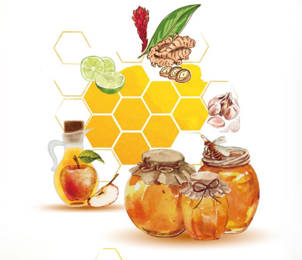 mật ong thực phẩm trị táo bón